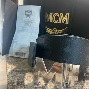 MCM belt $275 (Brand New)